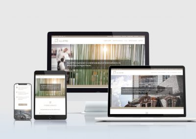ALLISTRO: Corporate Website