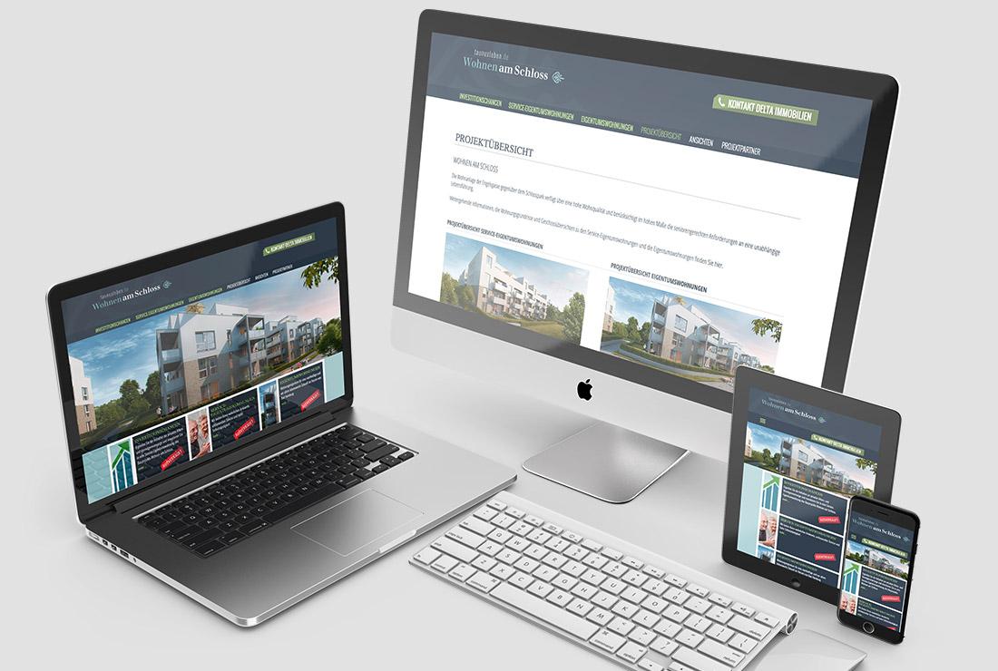 Taunusleben – Responsive Projekt-Website
