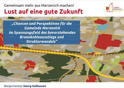 Gemeinde Merzenich: Strukturwandel