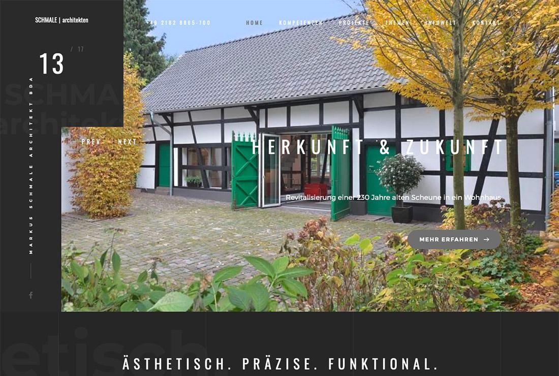 Schmale-Architekten-Homepage
