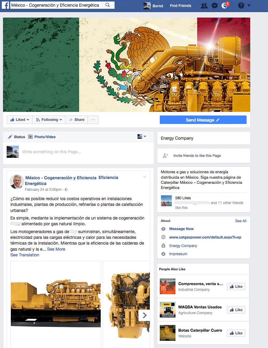 Facebook Kanal Cogeneración Mexico