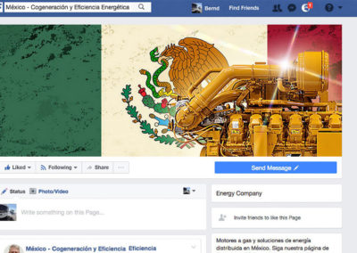 Caterpillar Energy Solutions GmbH – Facebook-Kanal