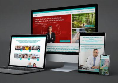 Kampagnenwebsite #Seelen+HirnGesundheit: In der Krise stark bleiben